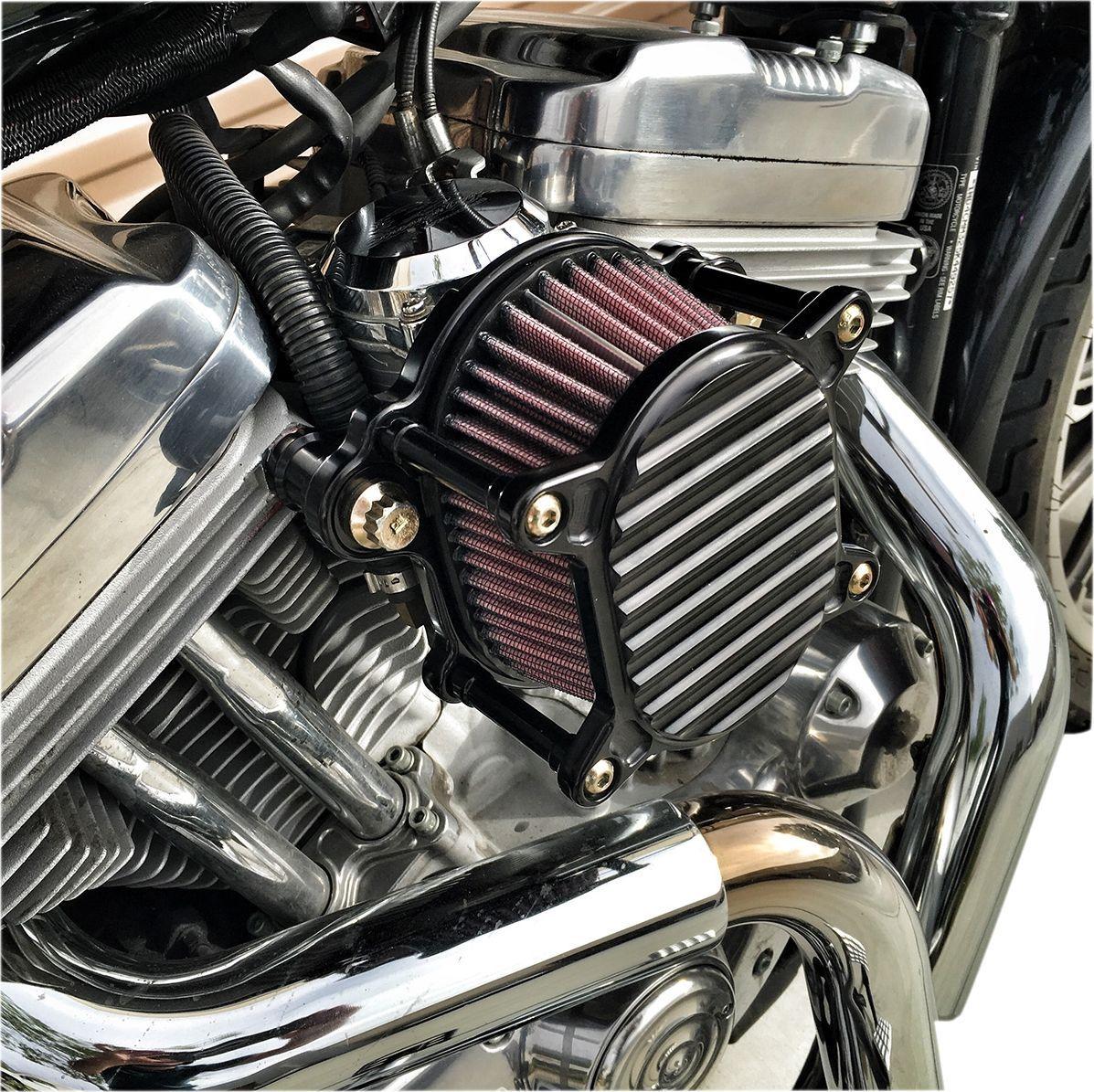 【JOKER MACHINE】空氣濾清器 OMEGA XLEFI 黑色鰭片式/銀色【A/C OMEGA XLEFI FIN BL/SL [1001-0050]】 - 「Webike-摩托百貨」