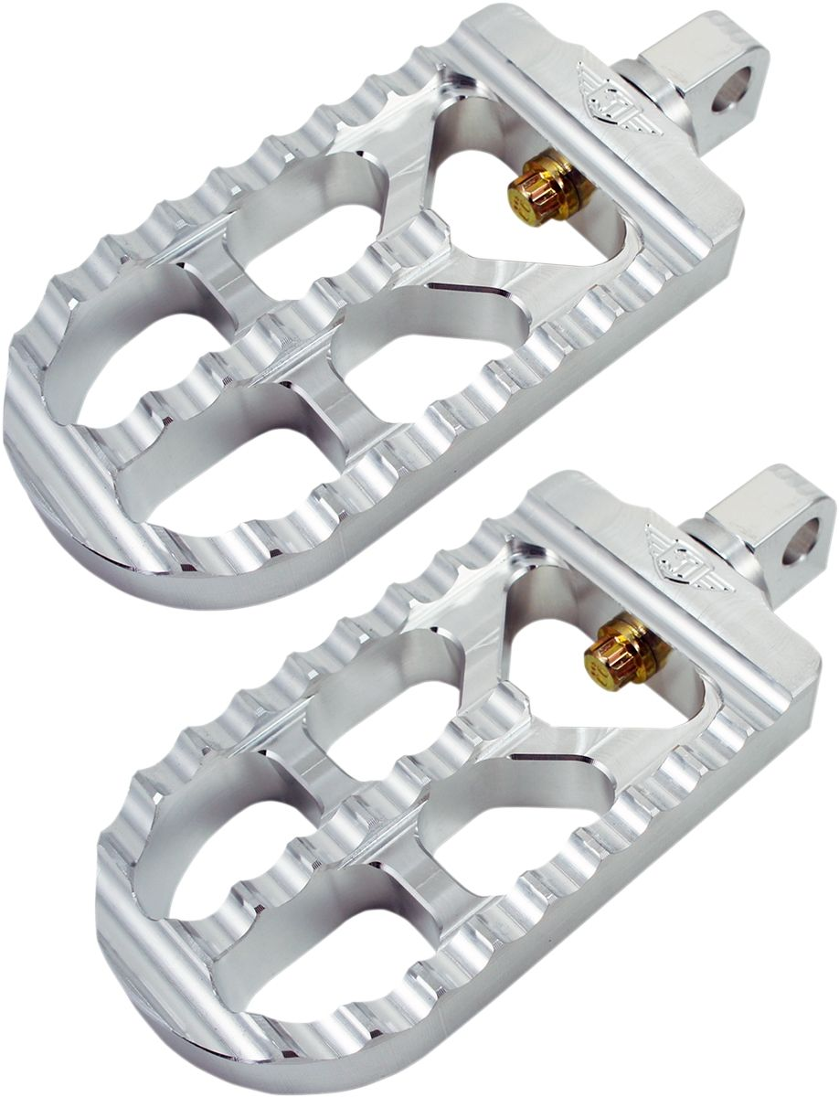 【JOKER MACHINE】長腳踏 原色 XL 【PEG LONG SERRATD RAW XL [1620-1264]】 - 「Webike-摩托百貨」