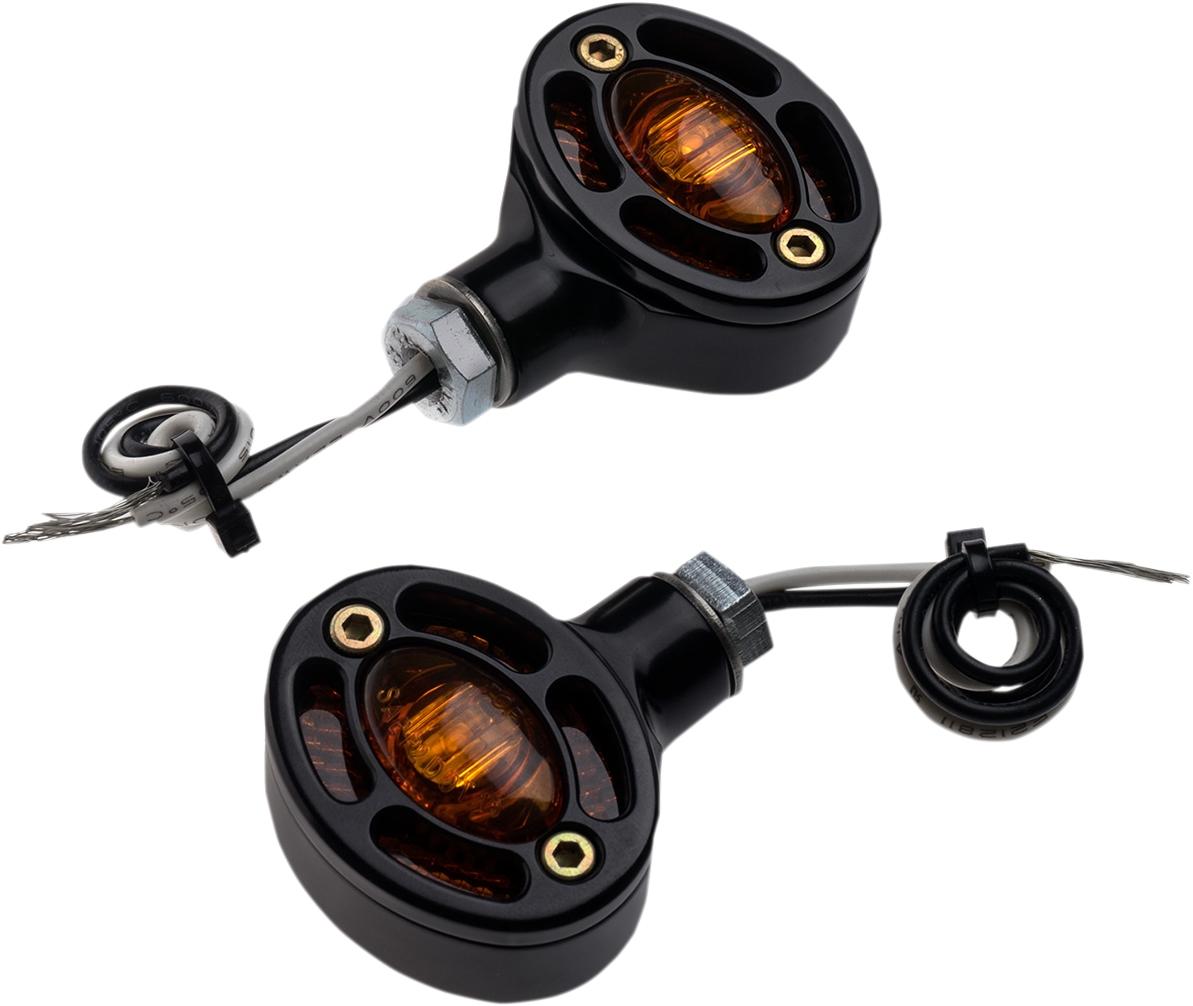 【JOKER MACHINE】LED方向燈燈泡 OMEGA 琥珀色 黑色 【LED R.T-SIG OMEGA AMB BLK [2020-1311]】 - 「Webike-摩托百貨」