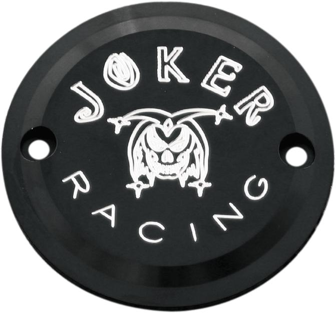 【JOKER MACHINE】點火白金蓋 黑色  JOKER RACING BT 【CVR PT BLK JOKER RACE BT [0940-0280]】 - 「Webike-摩托百貨」