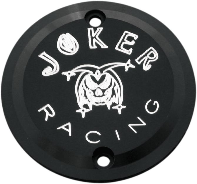 【JOKER MACHINE】點火白金蓋 黑色  JOKER RACING XL 【CVR PT BLK JOKER RACE XL [0940-0282]】 - 「Webike-摩托百貨」