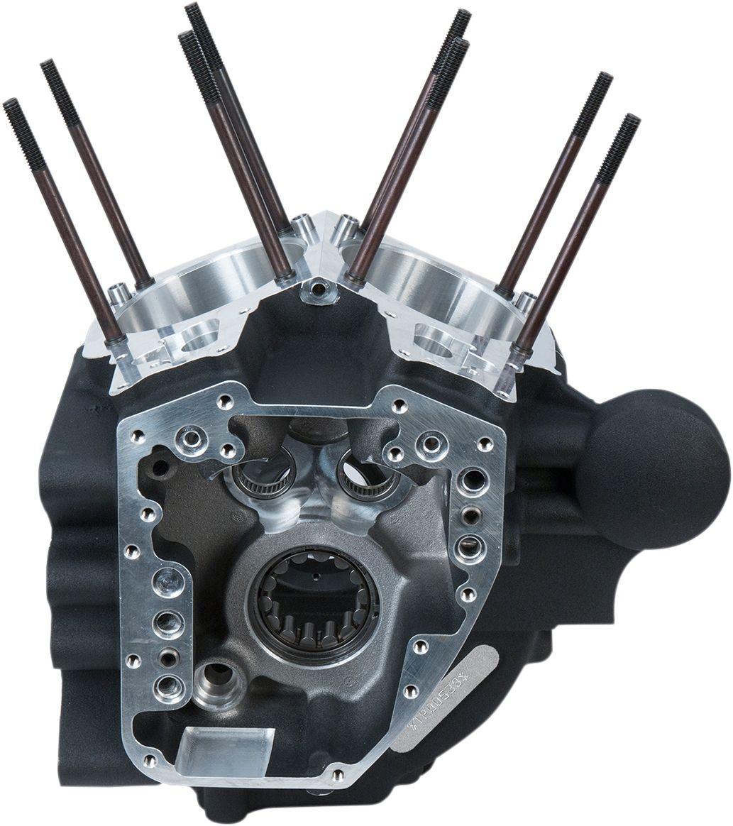 【S&S CYCLE】曲軸箱/黑色 STK BR 06- 【CRANKCASE BLK STK BR 06- [0920-0155]】 - 「Webike-摩托百貨」