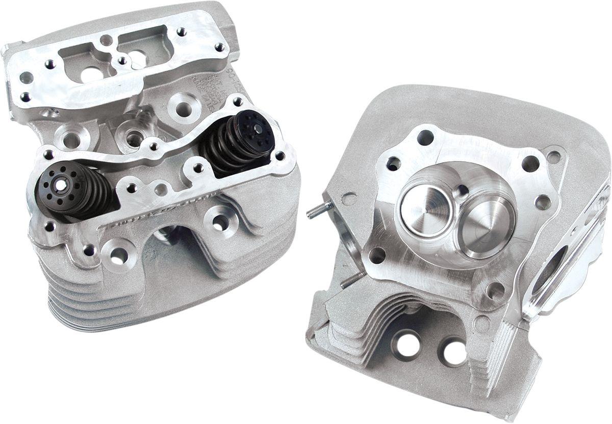 【S&S CYCLE】汽缸頭/ 89cc 銀色 06-13TC 【HEADS 06-13TC 89CC SLVR [0930-0065]】 - 「Webike-摩托百貨」