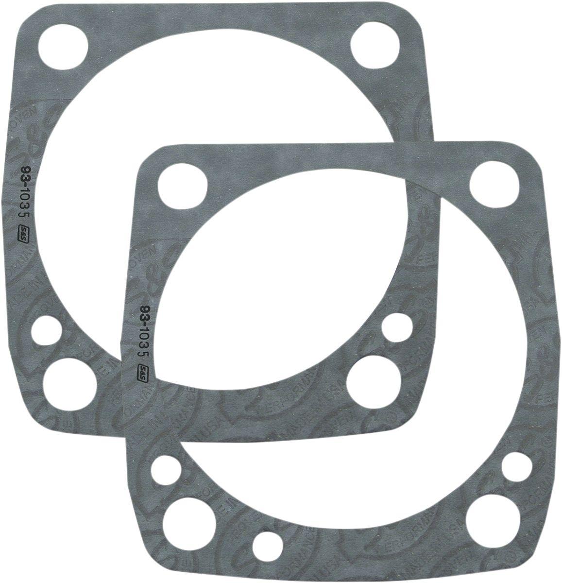 """【S&S CYCLE】汽缸下墊片/ 3.5"""" V2 【GASKETS BASE 3.5""""V2 [0934-5018]】 - 「Webike-摩托百貨」"""