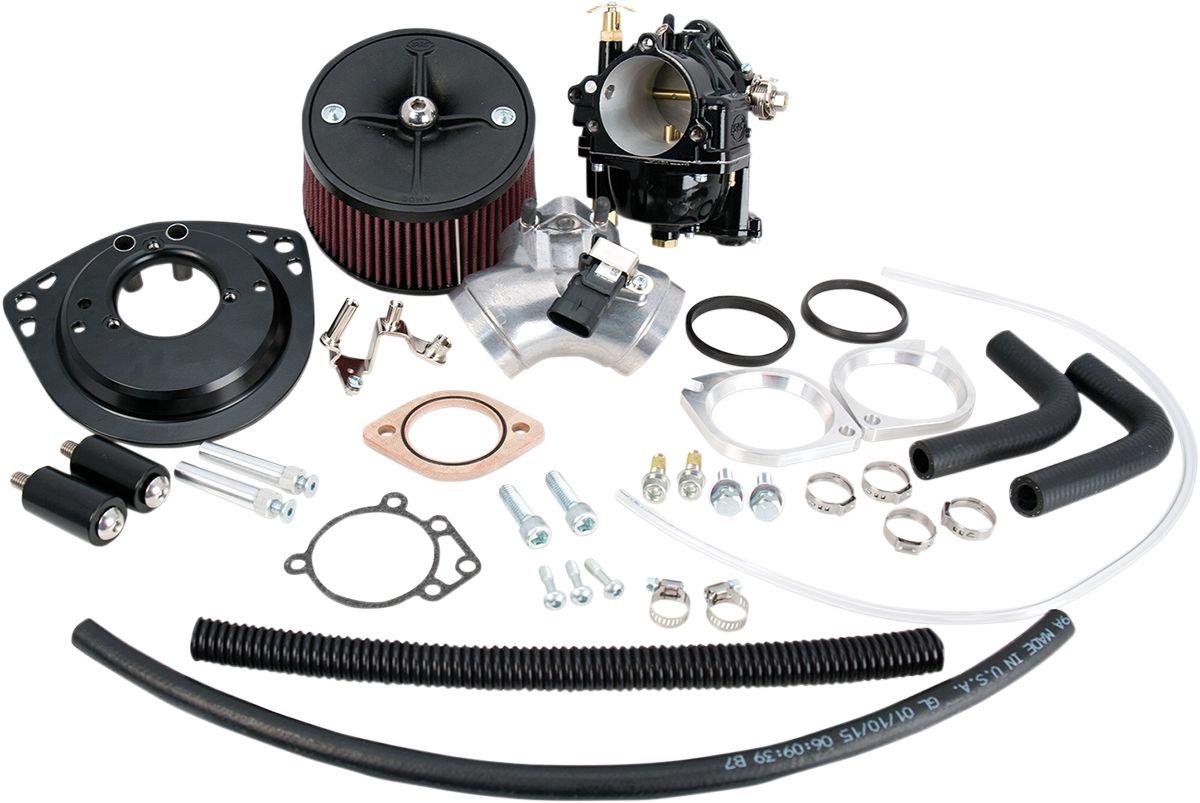 【S&S CYCLE】化油器/SUPER G F/T143 【CARBURETOR G F/T143 [1001-0046]】 - 「Webike-摩托百貨」