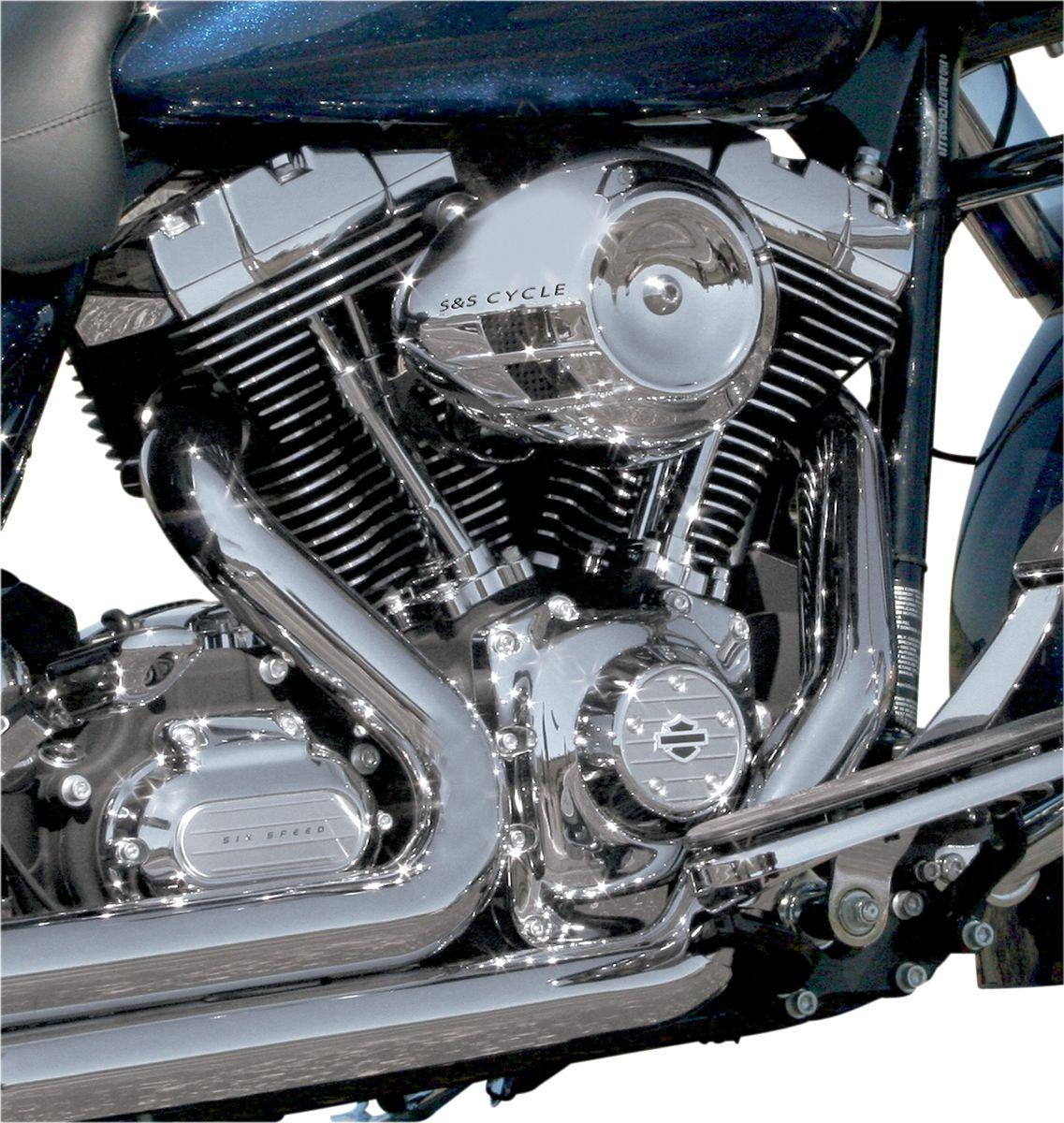 【S&S CYCLE】空氣濾清器蓋/鍍鉻 【COVER AIR STRM CHR [1014-0116]】 - 「Webike-摩托百貨」