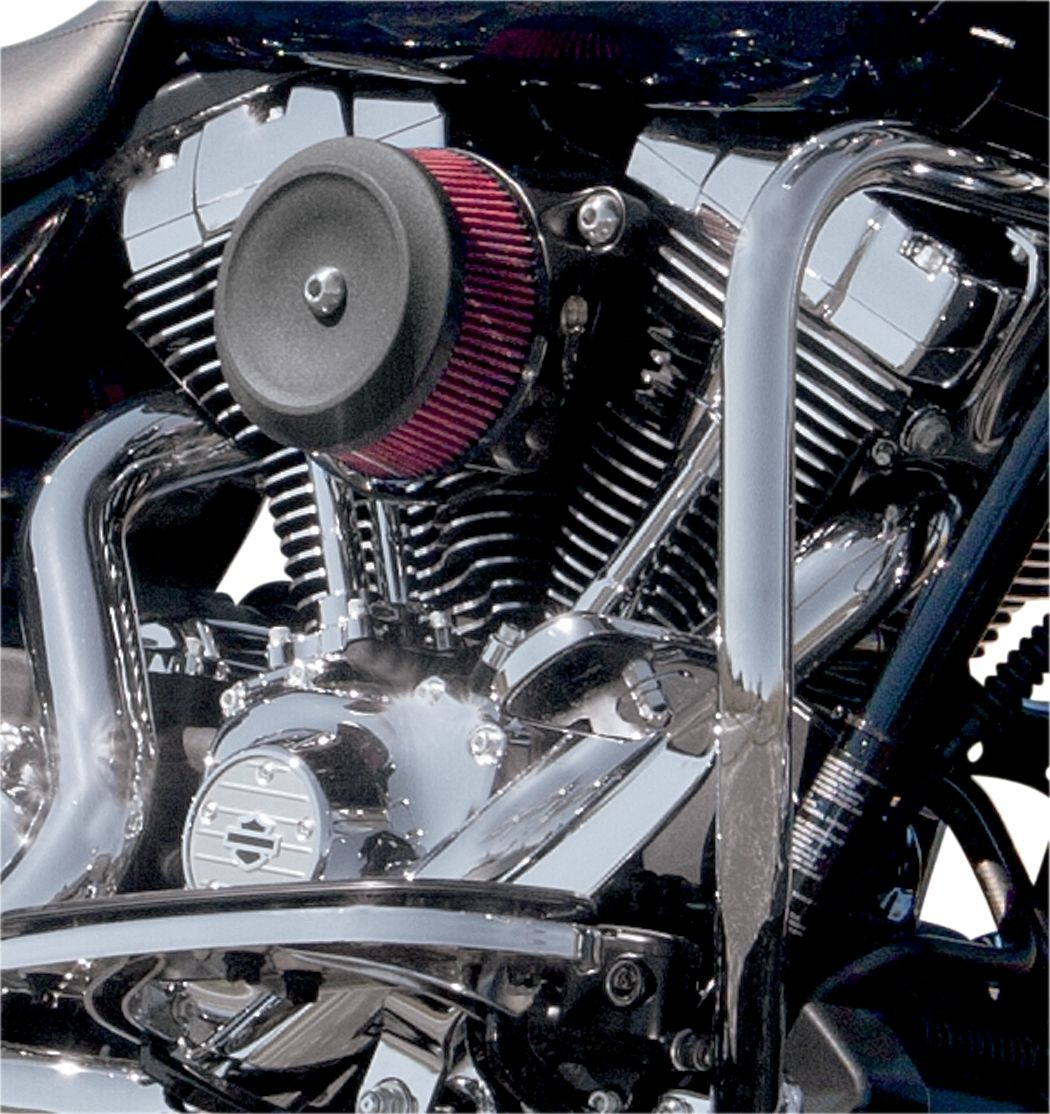 【S&S CYCLE】空氣濾清器蓋/ BOB DISH 黑色 【COVER AC BOB DISH BLK [1014-0119]】 - 「Webike-摩托百貨」