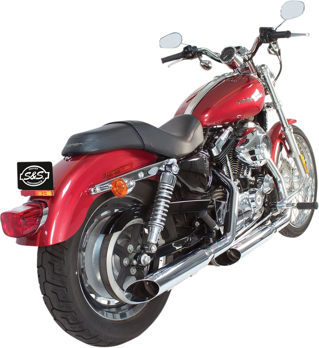 【S&S CYCLE】排氣管尾段/ SLANT OUT 2004-13XL 【MUFFLERS SL/OUT 04-13XL [1801-0664]】 - 「Webike-摩托百貨」