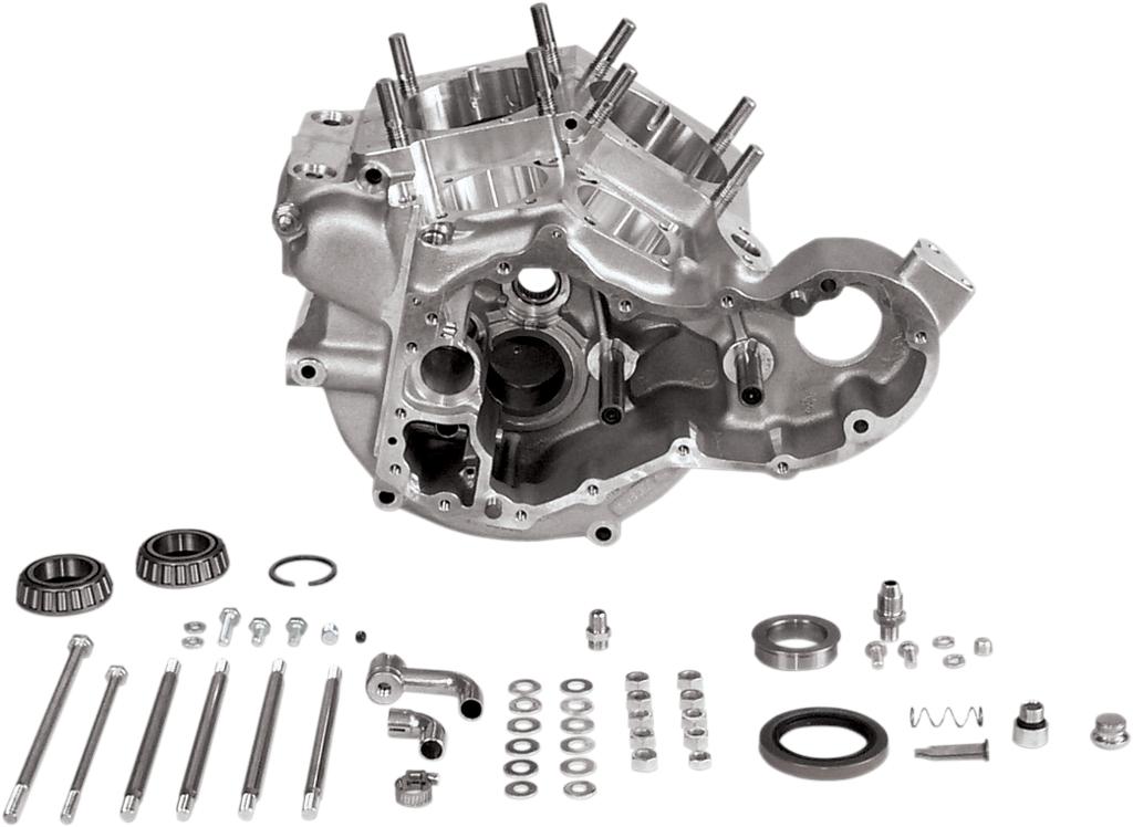 【S&S CYCLE】發電機側曲軸箱/ S65-69 【S.BORE MOTOR CASES65-69 [31-0010]】 - 「Webike-摩托百貨」