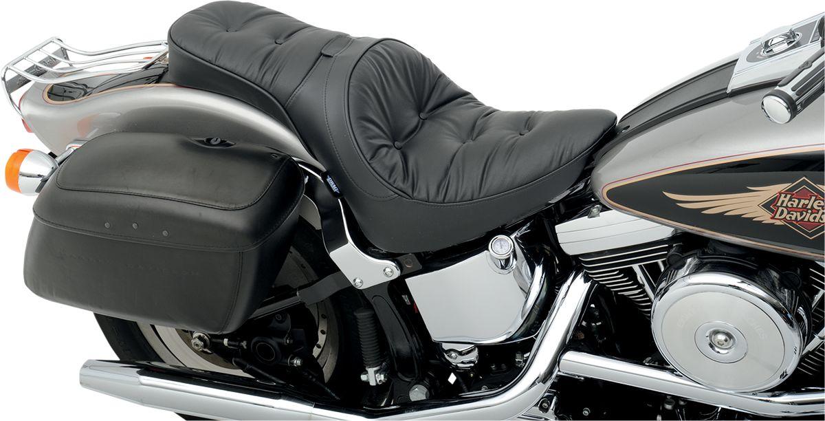 【Drag Specialties】坐墊/2-1DBR PLW 1984-99ST 【SEAT 2-1DBR PLW 84-99ST [0802-0731]】 - 「Webike-摩托百貨」