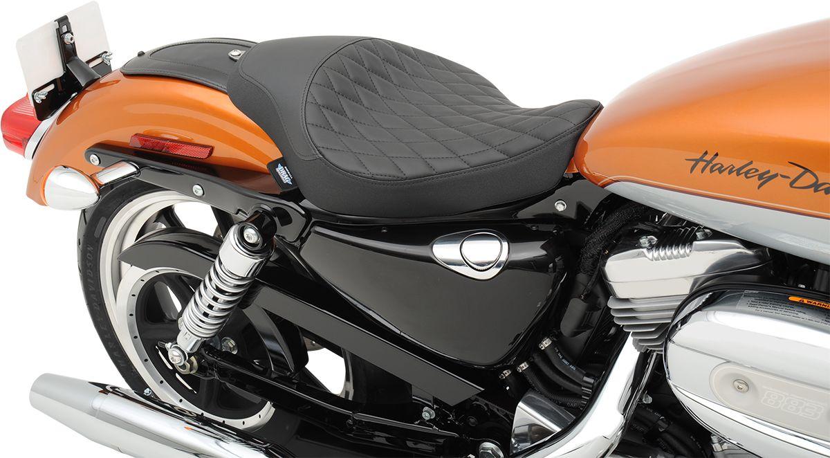 【Drag Specialties】LOW PROFILE 單座坐墊/DMND 2004-17XL 【SEAT LOSOLO DMND 04-17XL [0804-0526]】 - 「Webike-摩托百貨」