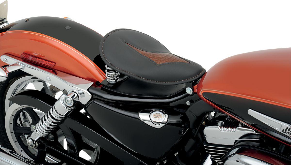 【Drag Specialties】單座坐墊/平滑 BR GATOR INS 【SEAT SOLO SM BR GATOR INS [0806-0073]】 - 「Webike-摩托百貨」
