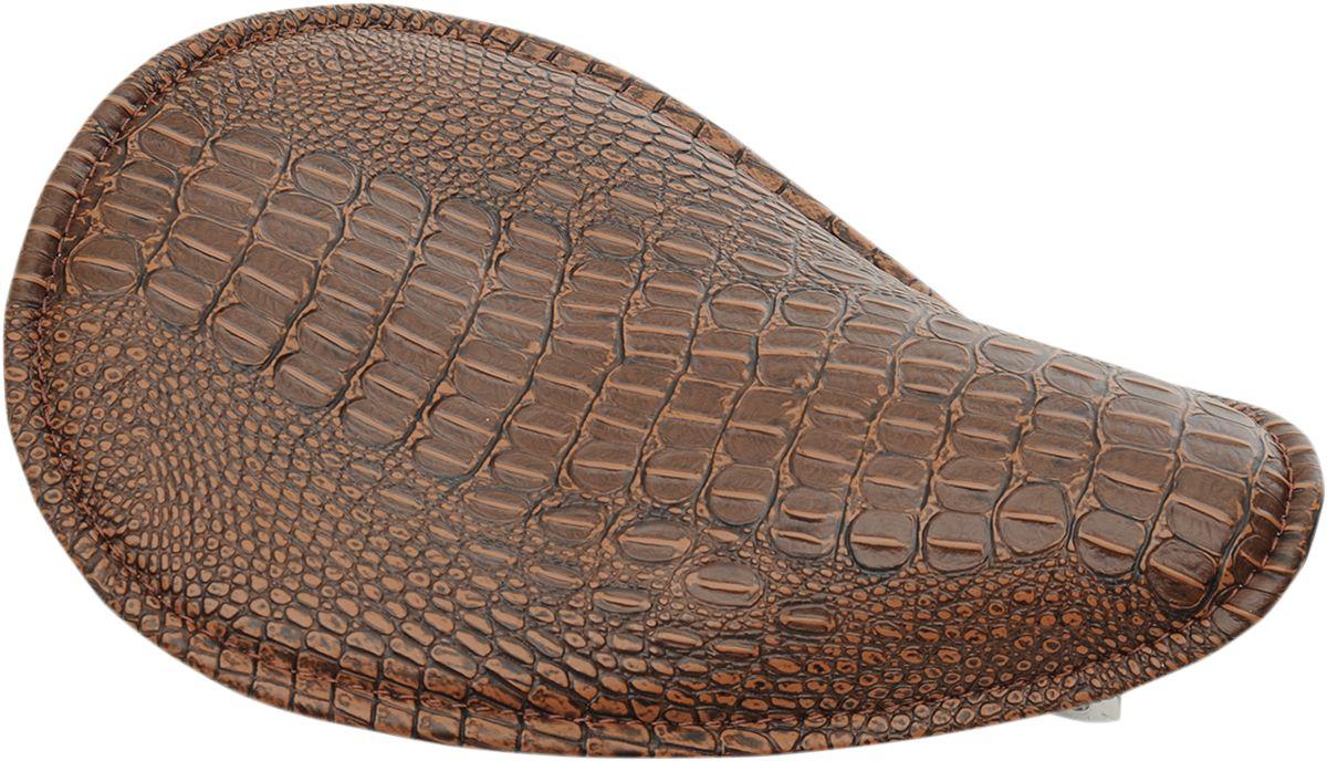 【Drag Specialties】單座坐墊/小型 棕色 裝飾件 【SEAT SML SOLO BRN GATR [0806-0096]】 - 「Webike-摩托百貨」
