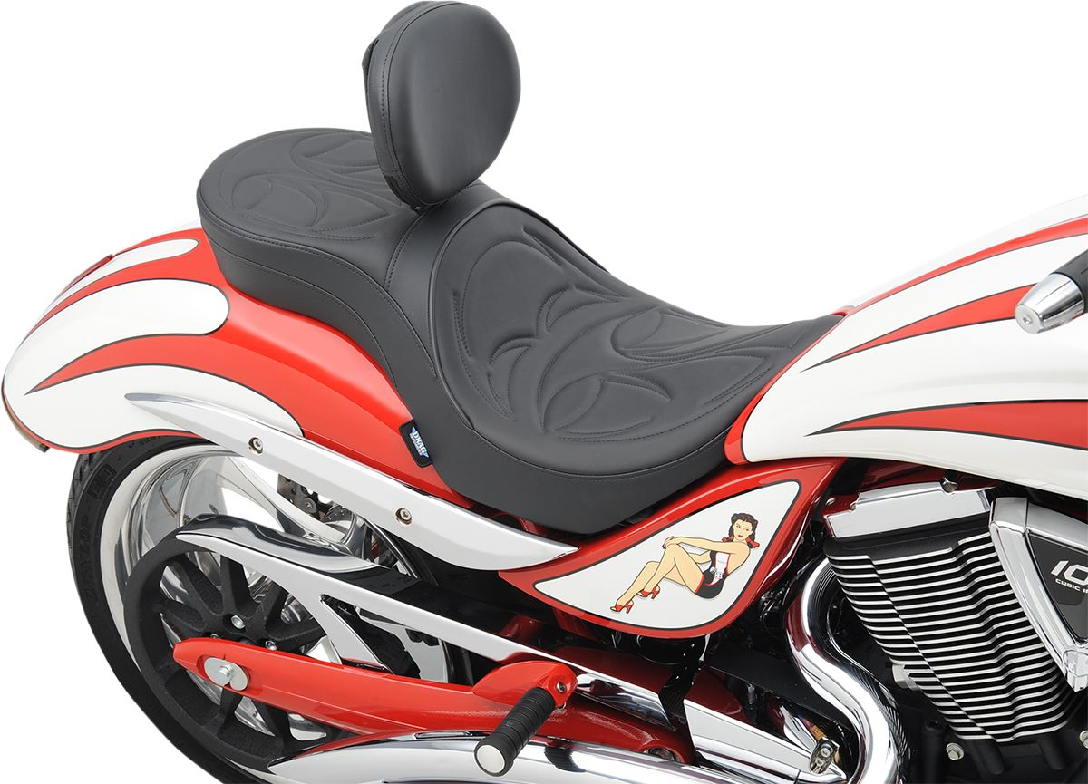 【Drag Specialties】坐墊/  LOW PROFILE DBR FULL JACKPOT 【SEAT LOPRODBR FUL JKPOT [0810-1576]】 - 「Webike-摩托百貨」
