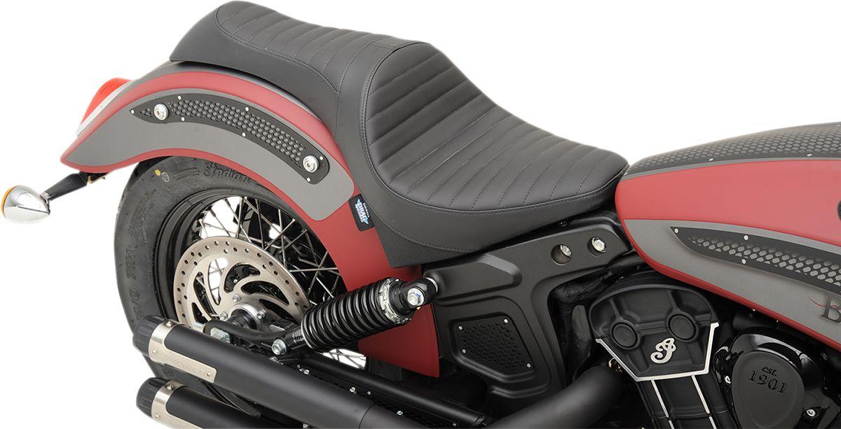 【Drag Specialties】CABALLERO 坐墊/ 黑色 KLASSIC 【SEAT CABLRO BLK CLASC [0810-1999]】 - 「Webike-摩托百貨」