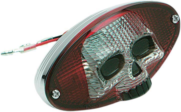 【Drag Specialties】燈殼/ SKULL F/0902-1242 【LENS SKULL F/0902-1242 [2010-0823]】 - 「Webike-摩托百貨」