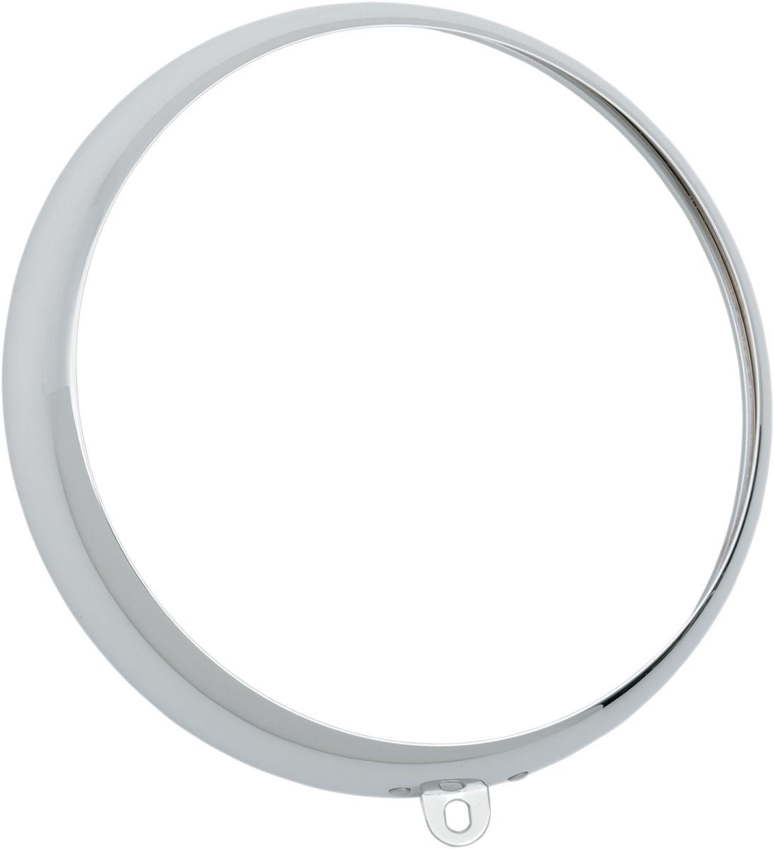 【Drag Specialties】頭燈/燈眉 鍍鉻 F/2001-0556 【RING TRIM CHR F/2001-0556 [2001-0557]】 - 「Webike-摩托百貨」