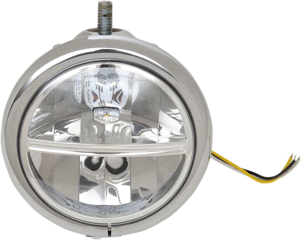 "【Drag Specialties】LED頭燈/ 5.75"" 上 【HEADLIGHT LED 5.75"" TOP [2001-0764]】 - 「Webike-摩托百貨」"