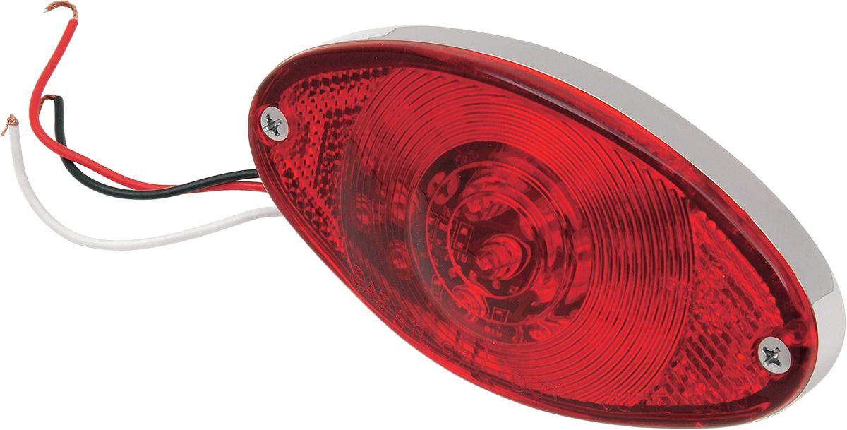 【Drag Specialties】尾燈/ CATEYE LED 紅色 【TAILLIGHT, CATEYE LED RED [2010-0220]】 - 「Webike-摩托百貨」