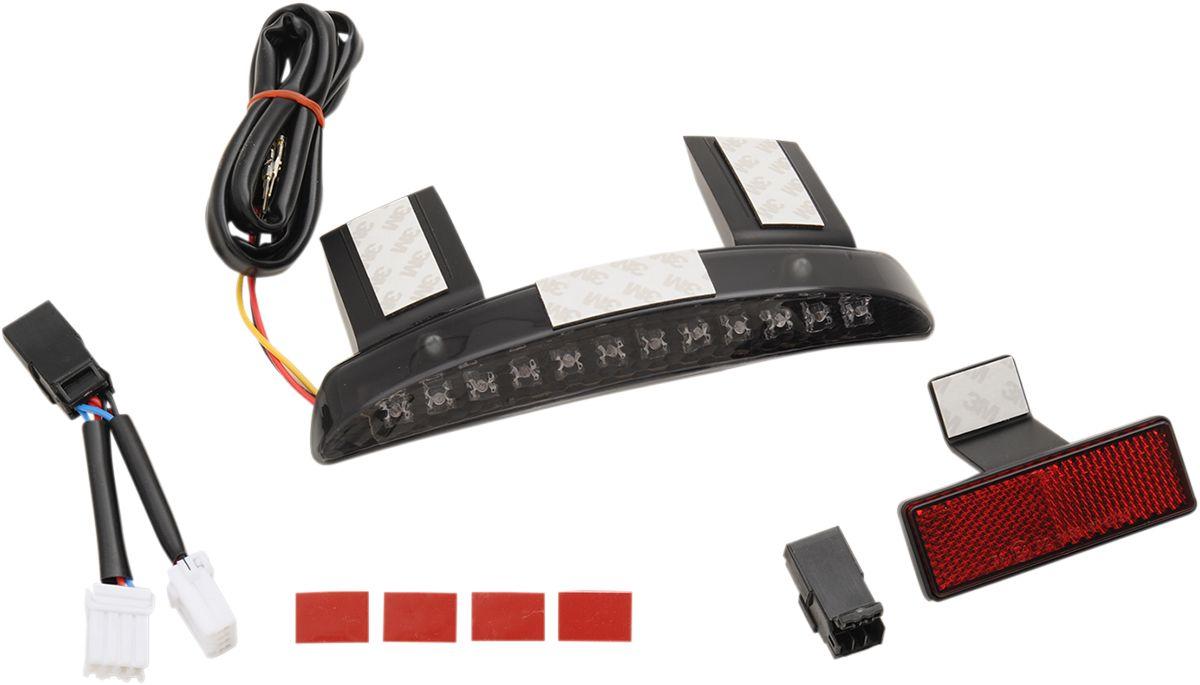 【Drag Specialties】尾燈/ 燻黑色 XL/N 14-17 【TAILLIGHT SMK 14-17 XL/N [2010-1161]】 - 「Webike-摩托百貨」