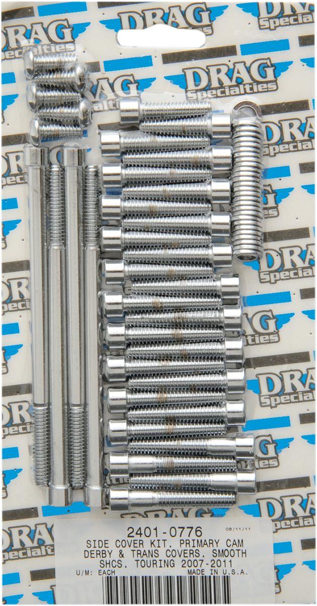 【Drag Specialties】變速箱螺絲套件/  平滑 FL 2007-17用 【BOLT KT TRAN SMTH FL 7-17 [2401-0776]】 - 「Webike-摩托百貨」