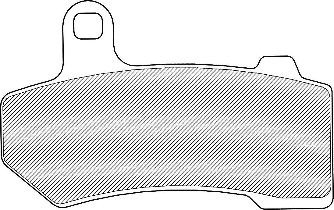 BRAKE PAD-DRAG ORGANIC [1720-0214]