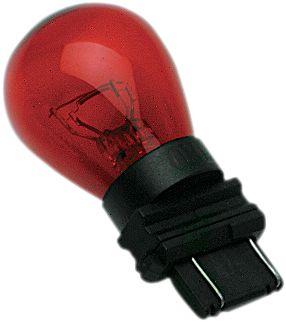 【Drag Specialties】楔形燈泡/ 紅色 雙芯 【WEDGE BULB RED DUAL [7805-2001]】 - 「Webike-摩托百貨」
