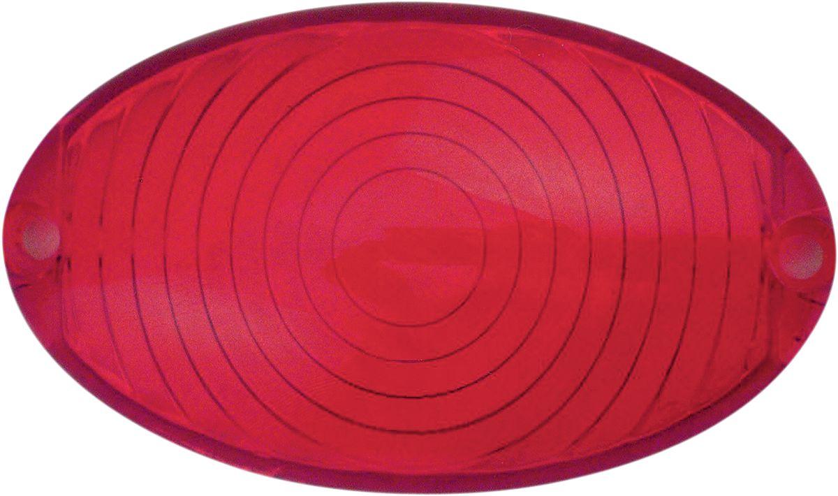 【Drag Specialties】VINT 維修用紅色燈殼/ 【VINT REP RED LENS [7805-6583]】 - 「Webike-摩托百貨」