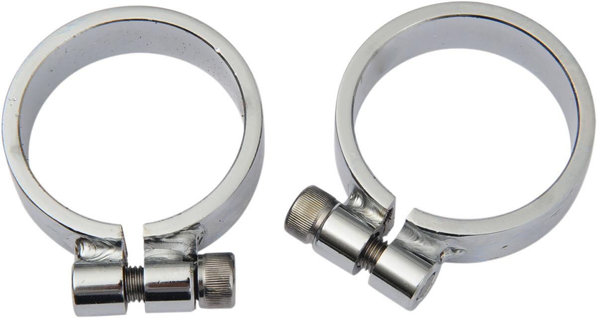 【Drag Specialties】重型排氣管系統固定夾/ XL 【HEAVY DUTY EXH CLAMPS XL [DS-203205]】 - 「Webike-摩托百貨」
