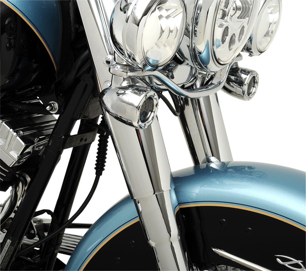 【Drag Specialties】前叉護蓋/ 鍍鉻 FL 1949-13 【COVER SLDR CHR 49-13 FL [DS-222898]】 - 「Webike-摩托百貨」