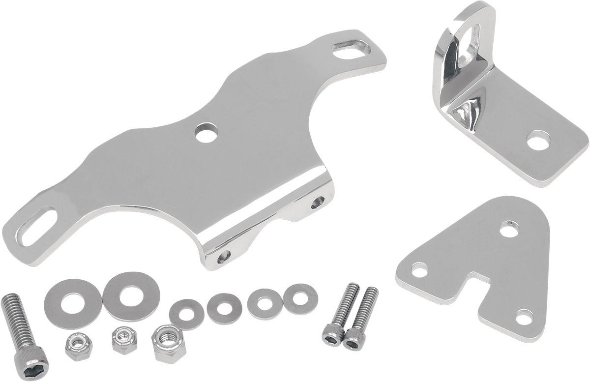 【Drag Specialties】重型引擎腳支架板/ 84-99 ST 【HVY DTY MTR MNT 84-99 ST [DS-243607]】 - 「Webike-摩托百貨」
