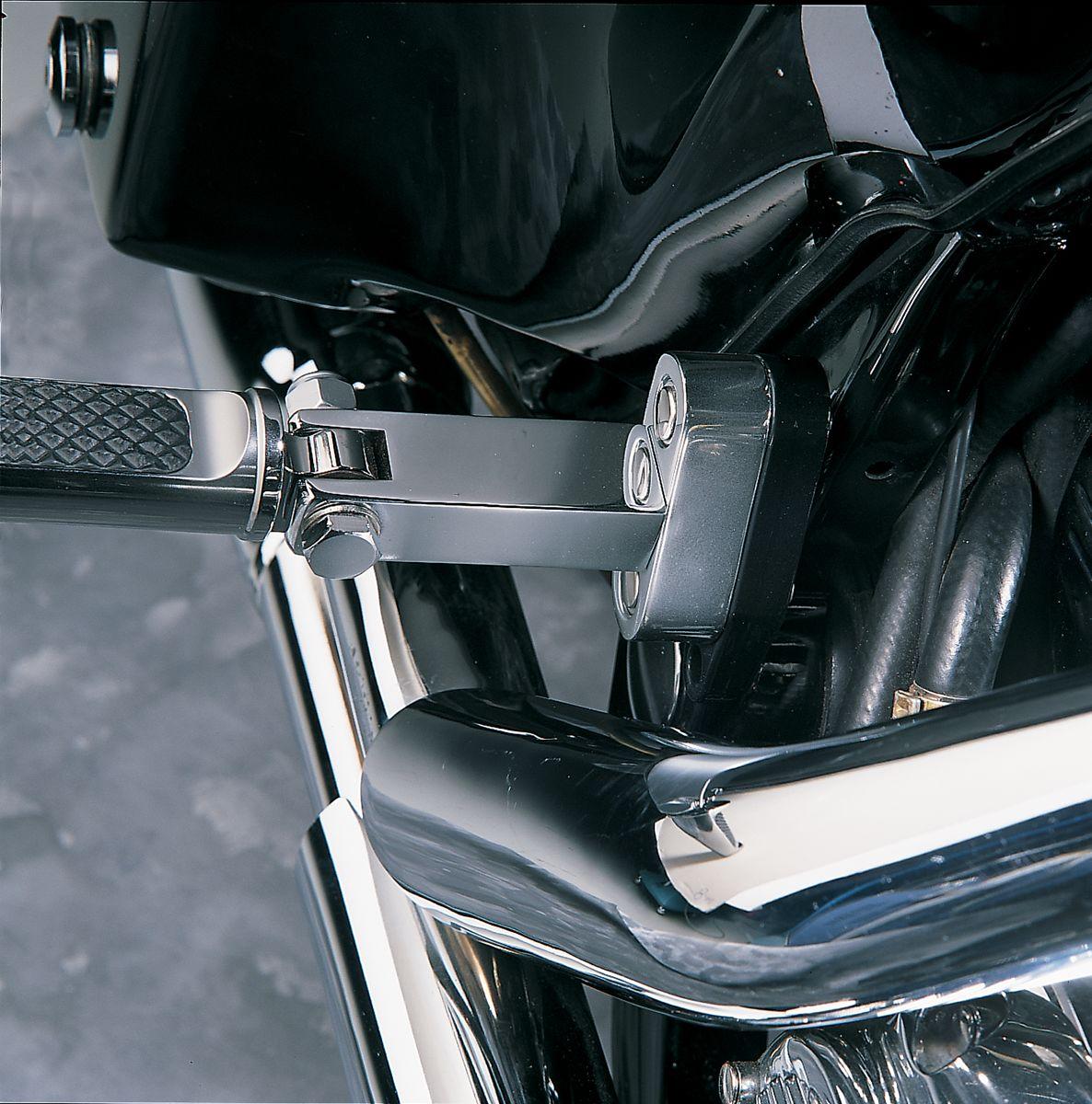 【Drag Specialties】後座腳踏安裝/ FLT 1993-09 【PSNGR FTPEG MNT 93-09 FLT [DS-243659]】 - 「Webike-摩托百貨」