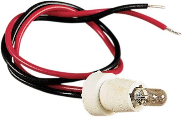 【Drag Specialties】橡膠燈座/燈泡/ F/MINI 儀表用 【RUB SCKT/BULB F/MINI GAUG [DS-243804]】 - 「Webike-摩托百貨」