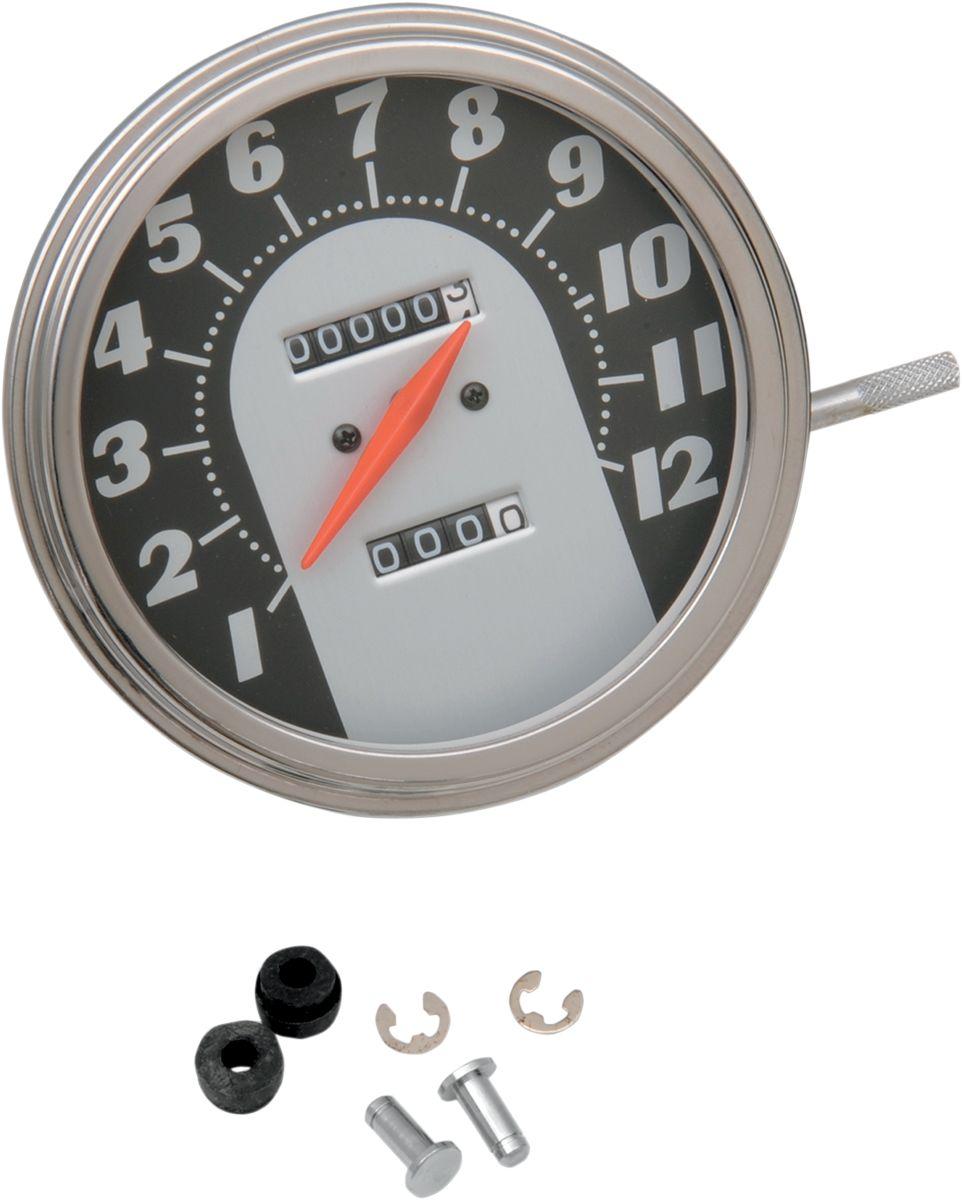 【Drag Specialties】2240:60 62-67 速度表/ 12mm 【2240:60 62-67 SPEEDO 12MM [DS-243884]】 - 「Webike-摩托百貨」