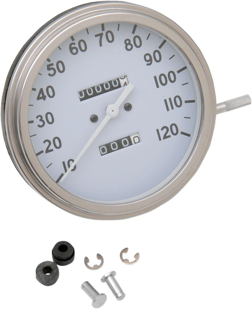 【Drag Specialties】2240:60 36-40 速度表/ 12mm 【2240:60 36-40 SPEEDO 12MM [DS-243877]】 - 「Webike-摩托百貨」