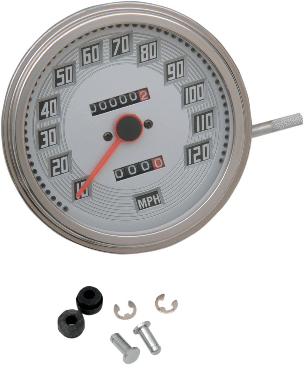 【Drag Specialties】BLT LOOK 速度表/ 47-97 2:1 12mm用 【2:1 BLT LOOK 47-97 12MM [DS-243893]】 - 「Webike-摩托百貨」