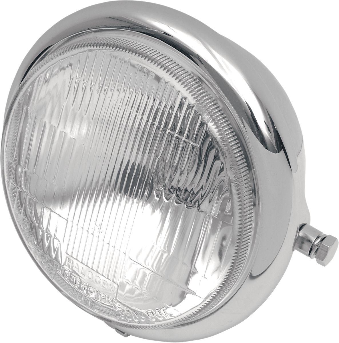 "【Drag Specialties】頭燈/ 5 3/4"" 側安裝W/H4用 【5 3/4""H-LITE SIDE MT.W/H4 [DS-280036]】 - 「Webike-摩托百貨」"