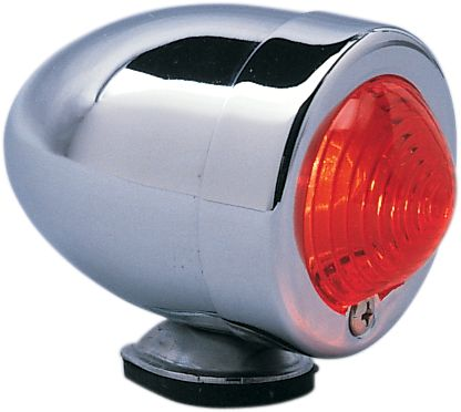 【Drag Specialties】子彈型位置燈/ 雙 FIL 紅色 【BULLET LITE DUAL FIL RED [DS-280070]】 - 「Webike-摩托百貨」