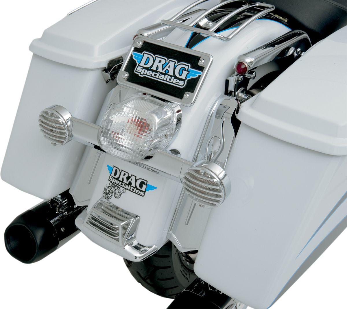 【Drag Specialties】10方向燈支架/91-17 FL'S用 【10SIGNAL BRKT 91-17 FL'S [DS-280271]】 - 「Webike-摩托百貨」