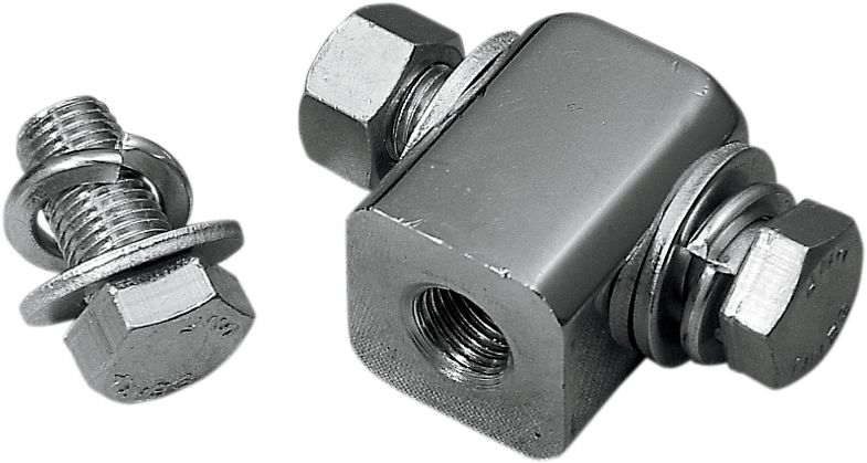 【Drag Specialties】頭燈安裝固定座配件 【HDLITE MNTNG BLOCK W/HDWR [DS-285005]】 - 「Webike-摩托百貨」