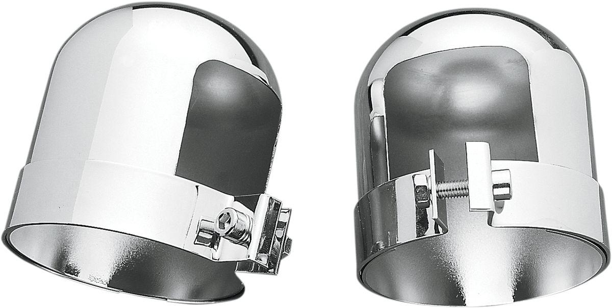 【Drag Specialties】避震器蓋/鍍鉻 FL 1958-64用 【CHR SHCK CVRS 58-64 FL [DS-310040]】 - 「Webike-摩托百貨」