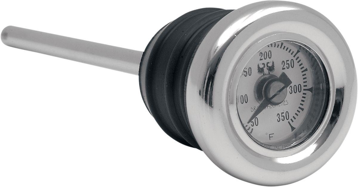 【Drag Specialties】機油加注口蓋/ 附温度表 FX/FL 【OIL PLUG W/TEMP FX/FL [DS-330031]】 - 「Webike-摩托百貨」