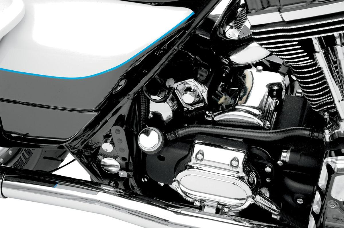 【Drag Specialties】電磁閥蓋/鍍鉻 91-17 BT 【CVR SOLENOID CHR 91-17 BT [DS-373598]】 - 「Webike-摩托百貨」