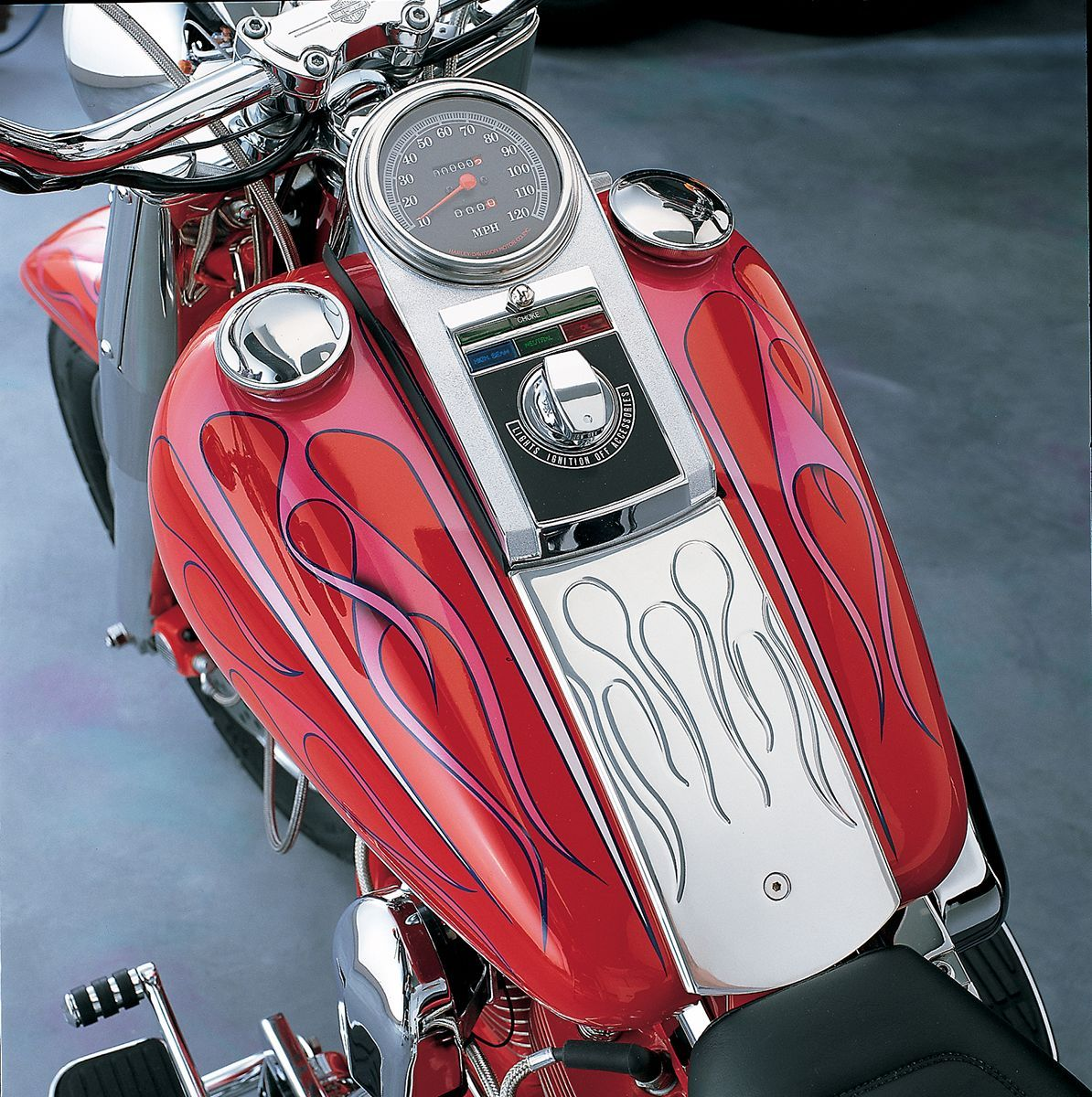 【Drag Specialties】儀表蓋/68-84FLH 80-90 FXST 【DASH 68-84FLH,80-90 FXST [DS-373670]】 - 「Webike-摩托百貨」