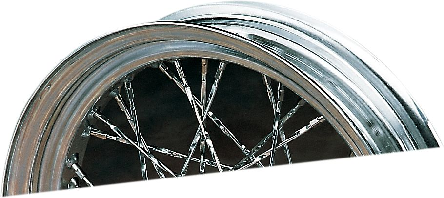 """【Drag Specialties】紐線鋼絲輻條/中心凹陷  21"""" 【21""""TWISTED SPOKE DROP CNT [DS380184]】 - 「Webike-摩托百貨」"""
