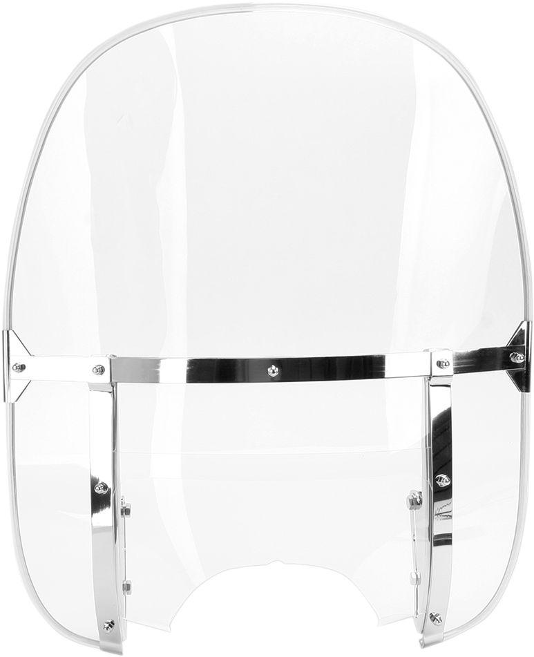 【Drag Specialties】風鏡套件/ 透明 1960-84 【CLEAR WINDSHELD KIT 60-84 [DS-710316]】 - 「Webike-摩托百貨」