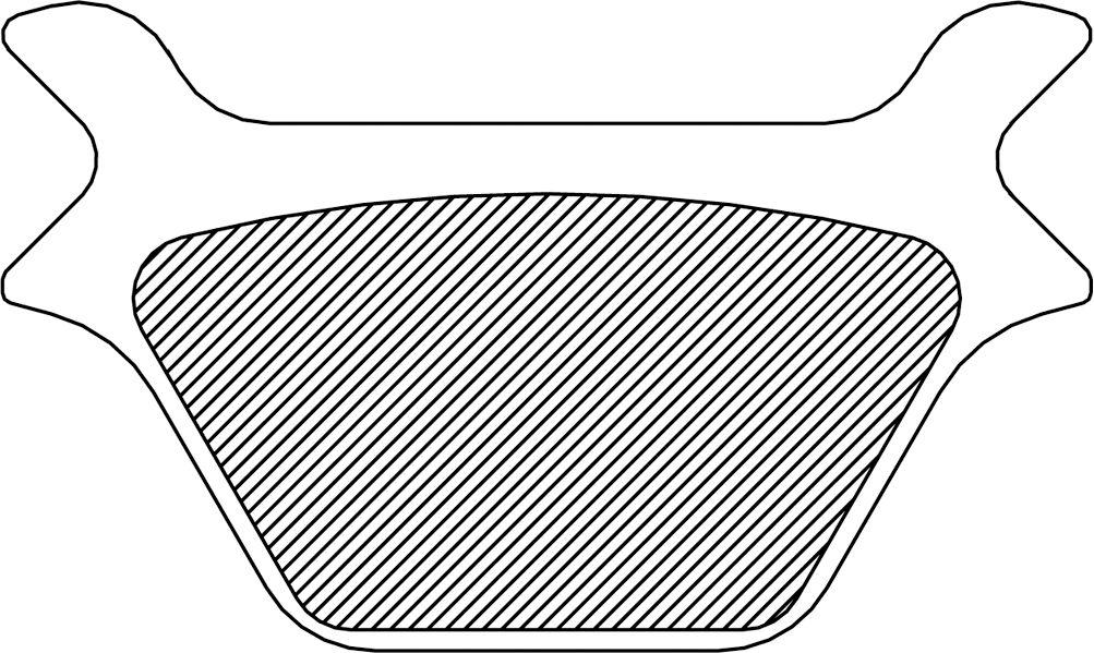 【Drag Specialties】DS 煞車來令片/ L87-99FXR XL R 【DS BRK PAD L87-99FXR,XL R [DS-325009]】 - 「Webike-摩托百貨」
