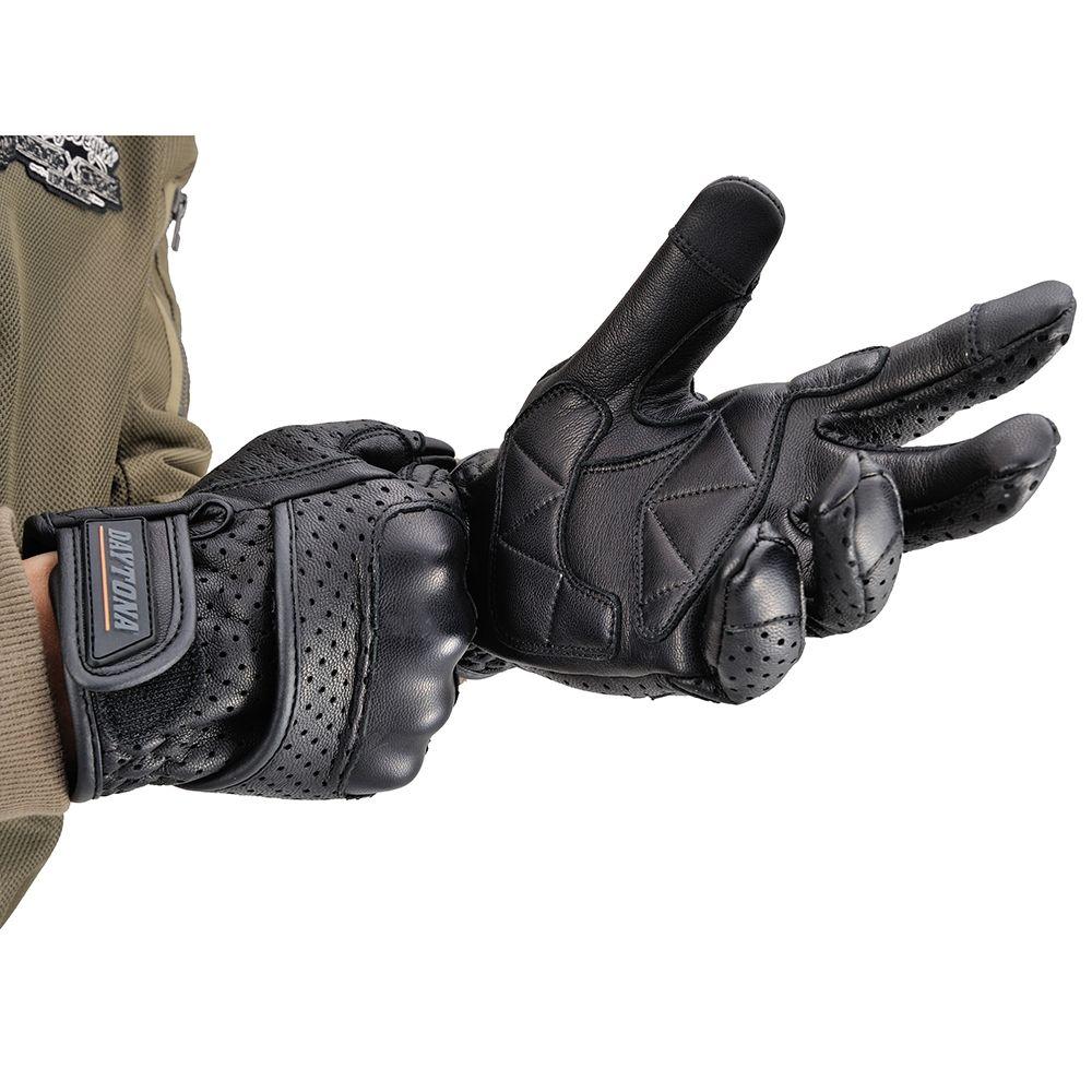 【DAYTONA】HBG-030 山羊皮透氣孔網格手套 防護型 - 「Webike-摩托百貨」