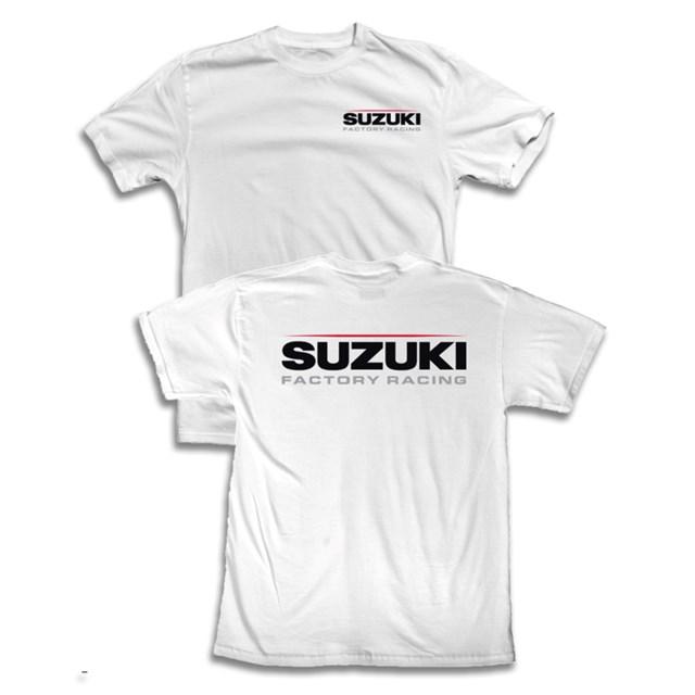 【US SUZUKI】Suzuki Factory RacingT恤 - 「Webike-摩托百貨」