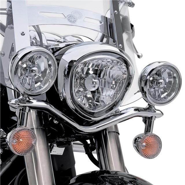 【US YAMAHA】鍍鉻大燈套件 - 「Webike-摩托百貨」